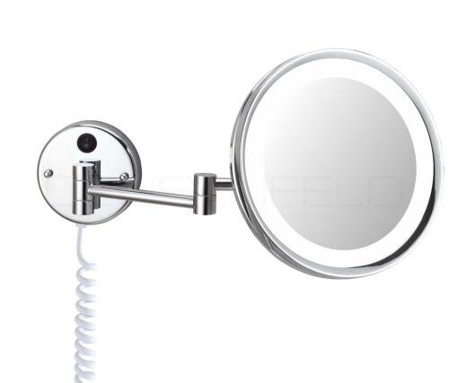 Deusenfeld kl500-mur DEL Cosmétique Miroir Miroir Miroir de maquillage 5 positions ø24cm