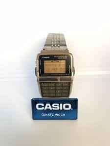 Rare-Vintage-Casio-DBC-300-Module-1253-Calculator-Data-Bank-Watch-Telememo-30
