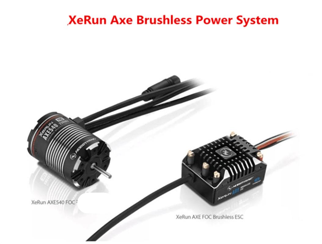 Hobbywing Xecorrere Axe Brushless energia System(AXE540 1800KV-POC Motors+AXE 60A ESC)   80% di sconto