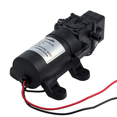 DC 12V 80PSI 4.5L/Min Diaphragm Water Self Priming Pump High Pressure Car BOAT