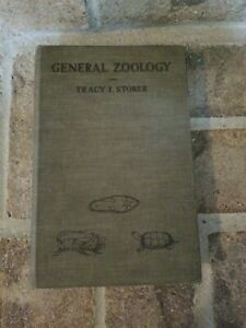 GENERAL-ZOOLOGY-Tracy-I-Storer-Vintage-Science-Biology-Book-1943