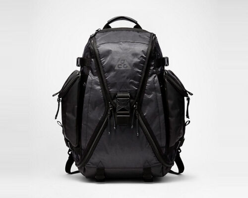 "HIGH QUALITY BLACK NIKE ACG RESPONDER HEAVY DUTY BACKPACK 15/"" LAPTOP BAG"