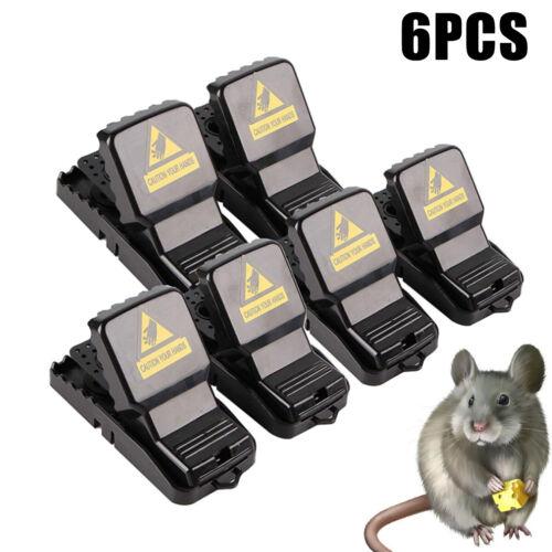 6X Home Mouse Traps Rat Mice Squirrel Killer Snap Power Rodent Reusable Catcher