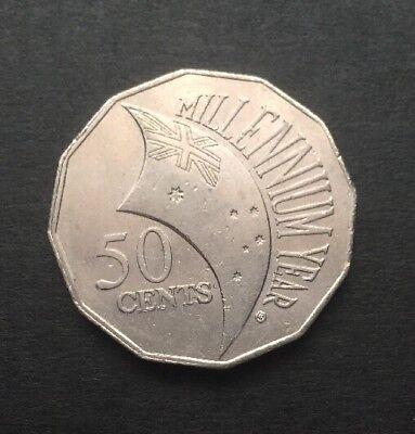 2000 millennium coin value