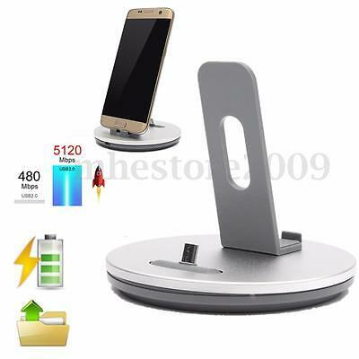 Desktop Charger DOCK STATION Sync Charge STAND Cradle Holder For Android Phone