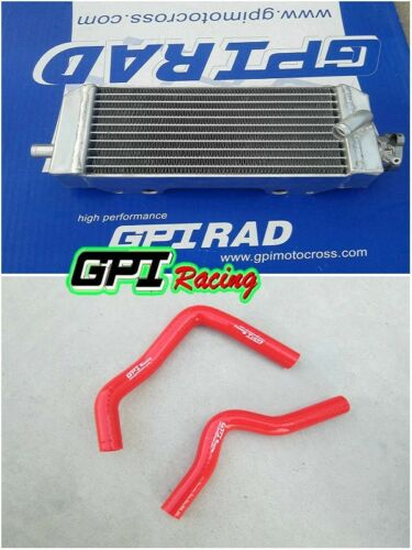 FOR SUZUKI RM85 RM 85 2002-2009 2003 2004 Aluminum radiator and hose