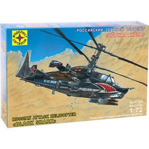 Escala-1-72-Kamov-Ka-50-Negro-Shark-un-invento-un-ruso-ataque-helicoptero-model-kits