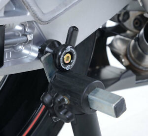 Triumph-Street-Triple-R-RS-S-765-Cotton-Reels-Paddock-Stand-Bobbins-R-amp-G-Racing