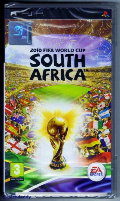PSP FIFA 2010 South Africa, UK Pal, Brand New & Sony Factory Sealed