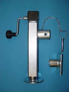 Stützfuß Klappbar mit Handkurbel Länge 415 mm 1300 kg belastbar Neu 130094