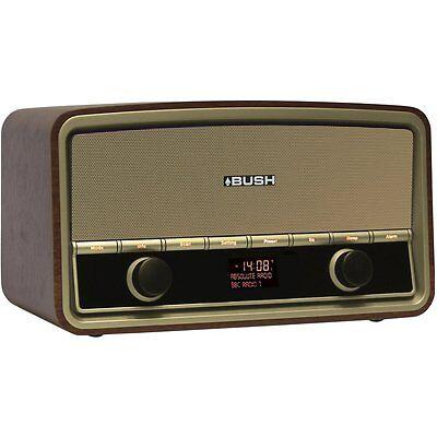 BUSH Heritage Retro DAB+ Digital Radio & Bluetooth Wireless Audio