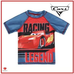 Maglia Maglietta T-shirt Per Bimbo e bambino Cars Saetta MCQUEEN Disney Original