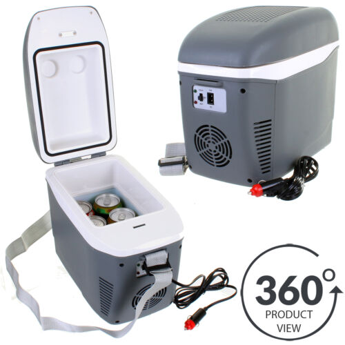 7.5L Coolbox In Car Cooler Vehicle Portable Cool Box Camping Electrical 12V DC