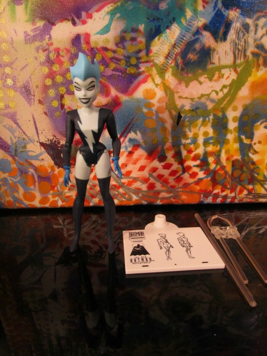 Batman Animated ADVENTURES Live Wire Action Figure DC COMICS Collectibles