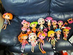 Set-of-18-Lalaloopsy-lala-loopsey-Full-Size-dolls-plus-Small-Dolls