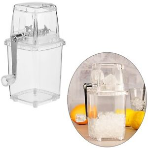 Eis-Crusher-Eiscrusher-Ice-Zerkleinerer-mit-praktischer-Handkurbel-14x11x23-cm