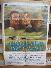 A3065   Llega un jinete libre y salvaje Jane Fonda, Jason Robards, James Caan, R