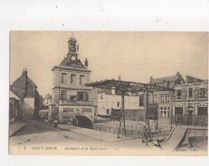 Saint-Omer-Mathurin-amp-Pont-Levis-France-LL-5-Vintage-Postcard-801a