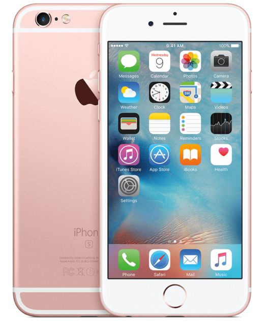 NEW(OTHER) ROSE GOLD T-MOBILE 16GB APPLE IPHONE 6S SMART CELL PHONE GS05