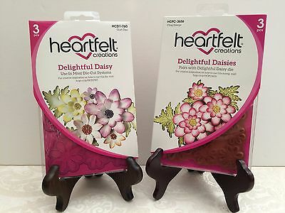 Heartfelt Creations Cling Rubber Stamp Set ~ Delightful Daisies HCPC3656 ~ NIP
