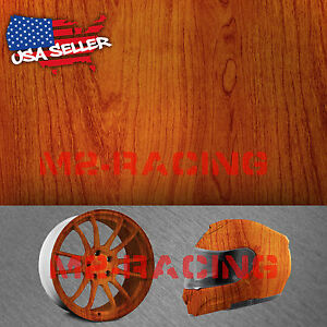 "19""x38"" Hydrographic Film Hydro Dipping Dip Water Transfer Wood Grain Print #3"