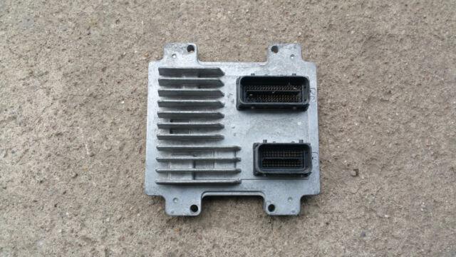 Vauxhall Corsa ECU Engine Control Unit 55576684 AAPK 12636386