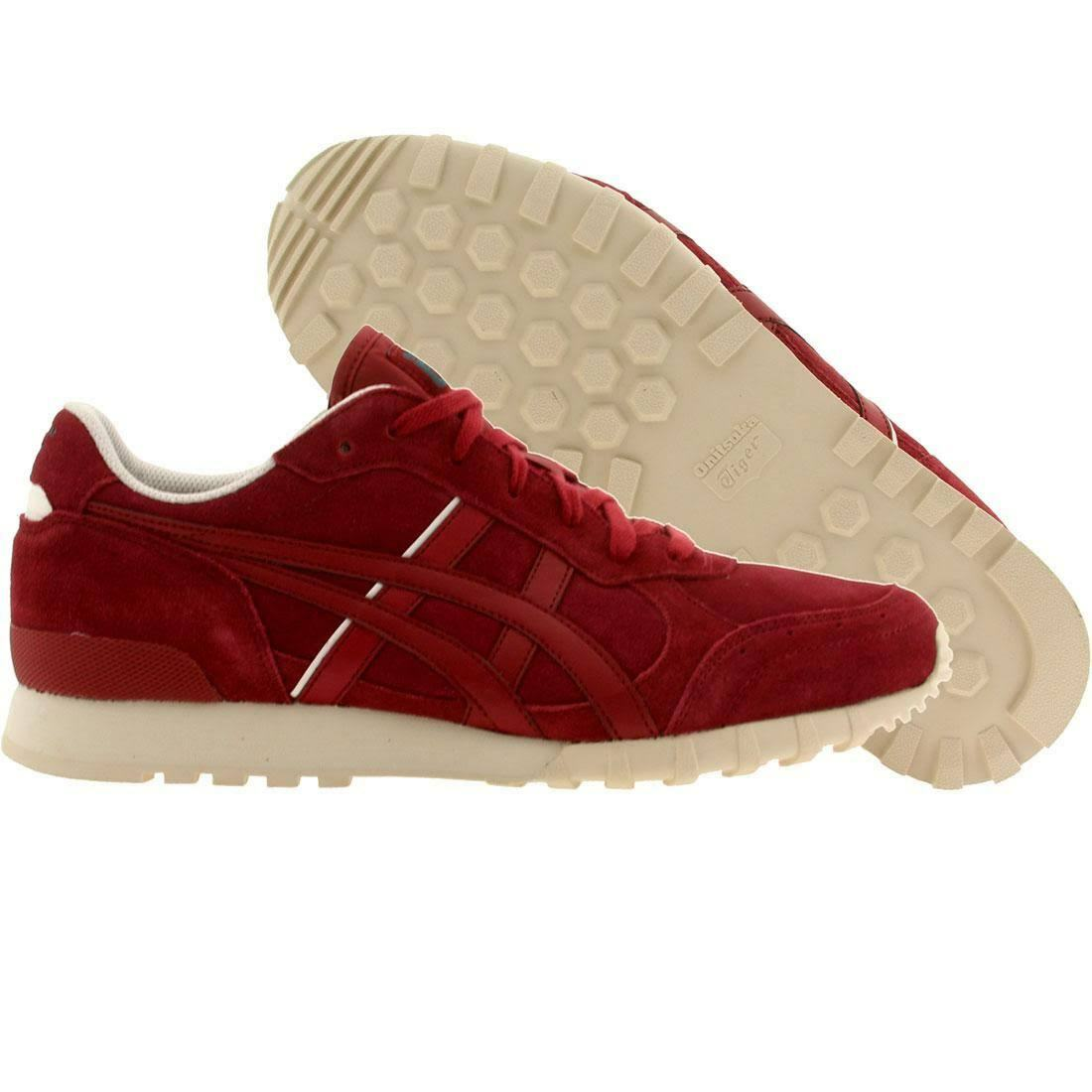 ONITSUKA TIGER D3T1L.2525 COLORADO 85 Mn's (M) Burgundy Suede Lifestyle Shoes