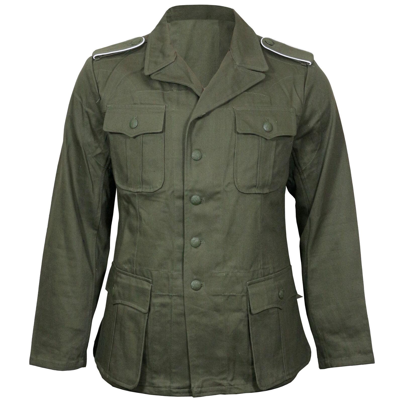 Armée allemande Dak Afrique KORPS tunique green olive - WW2 REPRO toutes sizes