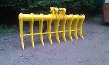 jcb cat takeuchi kubota digger excavator high tensile land rake pins included