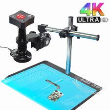 Max 360x 38mp 4k 1080p 60fps Hdmi Usb Industrial Microscope Camera Set Pcb Smd