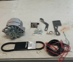 ih farmall h super h alternator conversion kit 12 volt w brackets ebay. Black Bedroom Furniture Sets. Home Design Ideas