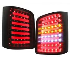 LIGHTBAR LED RÜCKLEUCHTEN VW T5 FLÜGELTÜRER Bj 03-15 SCHWARZ LED HECKLEUCHTEN LH