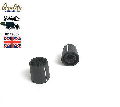 1x 10x 50x CLIFF CL1720 Switch cap 6 mm Spindle Black Plastic Knob