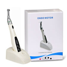 Dental Wireless 161 Mini Endo Motor Root Canal Treatment Contra Angle Handpiece