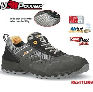 9124a3a0aed Details about Mens U-POWER Ultra Lightweight Safety Trainers Composite Toe  Cap Shoe Boots Size