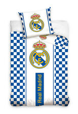 REAL MADRID FC REVERSIBLE DUVET, PILLOW CASE QUILT COVER SINGLE BEDDING SET RMCF