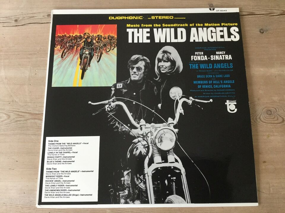 LP, diverse, The Wild Angels - Soundtrack