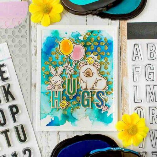 Xmas Moose Bunny Fox Metal Cutting Dies Stencils Clear Stamps Diy Scrapbooking