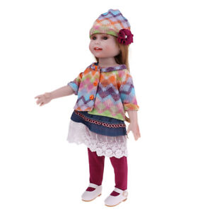 NPK-Adorable-45cm-DIY-Soft-Silicone-Jointed-Dolls-for-18-inch-Princess-Doll