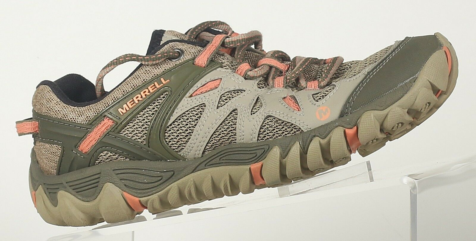 Merrell Women's  size 7 All Out Blaze Aero Sport Hiking Water shoes Beige Khaki  authentic quality
