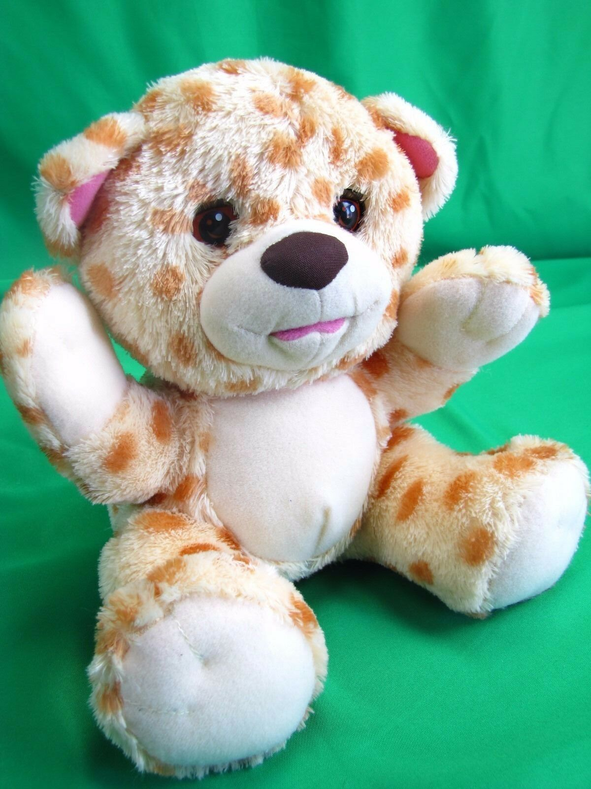 Fisher Price Animated Baby Cheetah Cub Kitten Purr Cat Plush Purrs