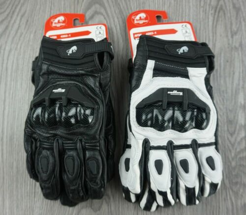 Leather Motorcycle Gloves ride bike driving  Motorbike Sports moto racing gloves