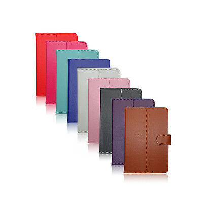 """PU Leather Case Stand Cover For Android Tablet PAD TAB 7"""" 8"""" 9"""" 9.7"""" 10.1"""""""