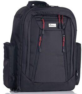 c46dd8ca0fee7 Image is loading Okkatots-Travel-Depot-Baby-Diaper-Bag-Backpack-Black-