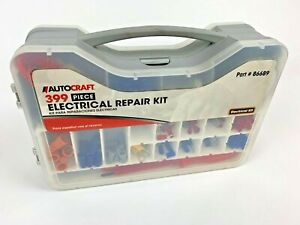 AUTOCRAFT-Tool-APPROX-399pc-Piece-Multi-Use-Electrical-Repair-Kit-W-Case-USED