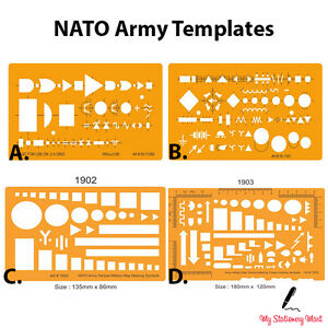 NATO Army Map Marking Military Troops Symbols Drawing ...