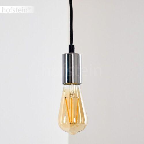 Retro Hänge Leuchte Pendel Lampe Ess Wohn Schlaf Zimmer Raum Beleuchtung Chrom