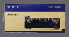 Denon AVR-X6300H 11.2 Channel 4K UHD A/V Receiver w/ built-in HEOS and WiFi