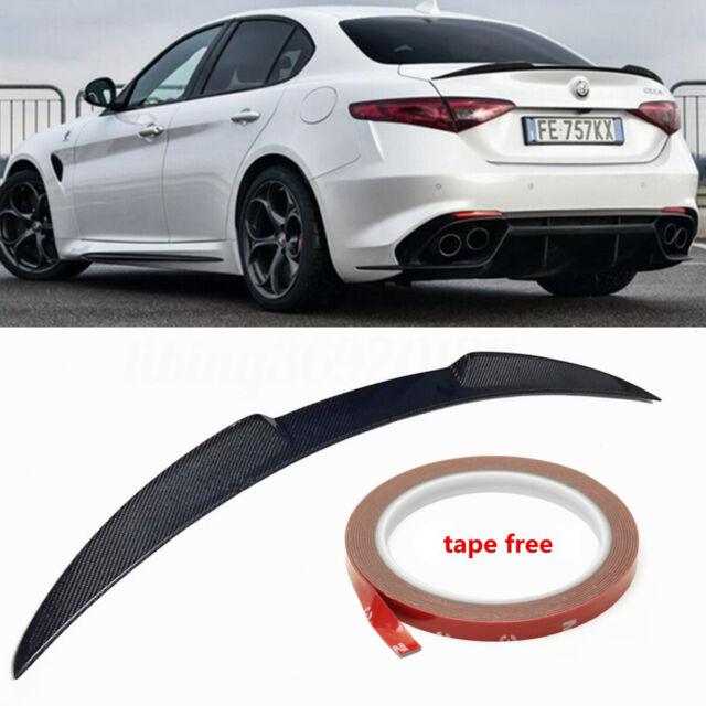 Carbon Fiber Trunk Spoiler Wing For 17-18 ALFA ROMEO