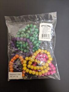 Daisy Bead Bracelets Kids Fun Girls Activity - 12 pk